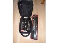 John Packer JP121 Starter Clarinet with Case and Music Stand