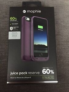 Mophie Juice Pack Reserve iPhone 6/6S Case