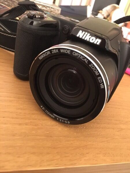 Nikon coolpix L340 camerain East End, GlasgowGumtree - Nikon coolpix l340 camera20.2 megapixel Wide 28x zoomUsed once Brand new conditionBought £100Comes with cableBatteries included