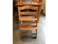 Hauck Alpha (very similar to Tripp Trapp) chair. 6 Months+