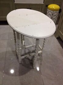 Cute Barley Twist Drop Leaf Table - Can Deliver