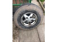 Landrover discovery 300 wheel n tyres
