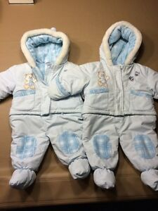 Snow suits for baby!