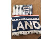 England Duvet Cover and Matching Pillowcase