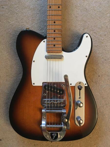telecaster with bigsby tremolo in victoria london gumtree. Black Bedroom Furniture Sets. Home Design Ideas