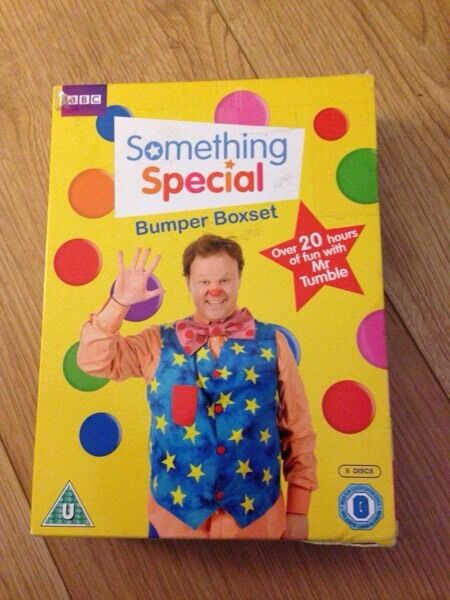 8 DVD Boxset mr tumble