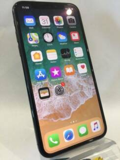 NEW CONDITION IPHONE X 64GB SPACE GRAY WITH BOX APPLE WARRANTY