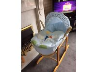 Moses Basket, Stand & Accesories