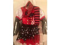 Girls pirate costume Halloween