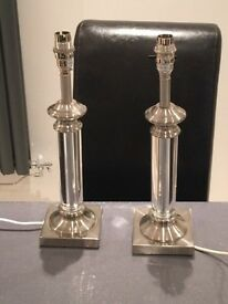 Candle stick lamps