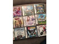 DS lite and 2x DSI with assorted games