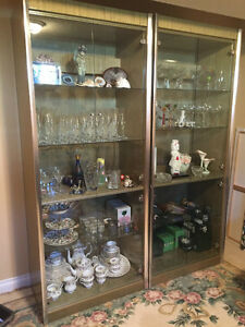 3 laquered wood wall units for sale West Island Greater Montréal image 2