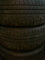 Almost New Set of Winter tires 235/50/r17