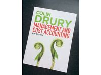 Management and Cost Accounting 9th edition