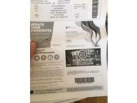 Justin Bieber Standing Ticket Sunday 30th Oct