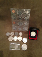 Assorted Canadian & U.S. Coins - Odds & Ends...
