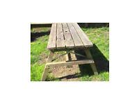 Outdoor table garden table £20