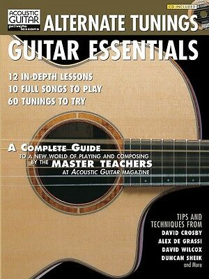- Alternate Tunings Guitar Essentials  Guitar Educational Book and Audio 000695557