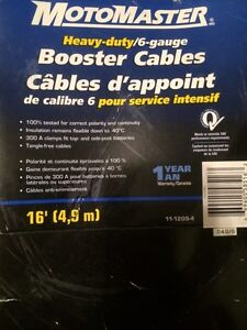 Motormaster  Booster Cable  with Air Pressure, Brand New Edmonton Edmonton Area image 1
