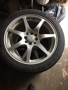 Fast rims with tires