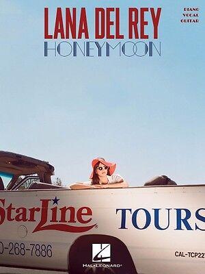 Lana Del Rey Honeymoon Sheet Music Piano Vocal Guitar SongBook NEW 000152947