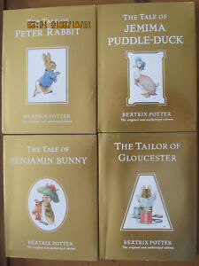 BEATRIX POTTER – 4 CHILDRENS BOOKS (2002)