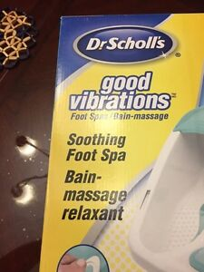 Dr Scholl's Foot Spa still in the box London Ontario image 3