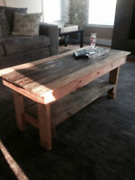 Beautiful. reclaimed, pallet coffee table