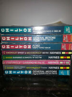 Haynes and Chilton Repair Manuals