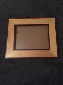 Solid wood large frame