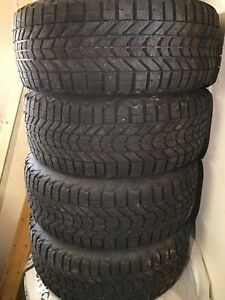 Winter tires on rims 215 55 16 audi A4
