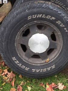 Tires good for winter ones off gmc truck 6 bolt
