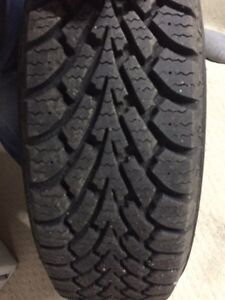 Almost brand new winter tires (185/65R15)