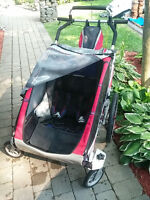 CHARIOT DOUBLE STROLLER CX2