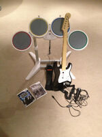 Rock Band Wii + Eddition Beatles super condition