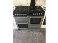 Black range cooker flavel 100cm