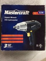 "Mastercraft 3/8"" 3.5amp electric impact wrench for sale"