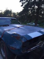 1967 camaro in need of restoration lots of parts included
