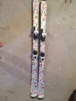 Girls Skis, Boots, and Poles