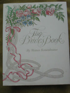 The Bride's Book – My Written Remembrance