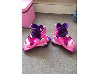 RARE Barbie learn 2 inline skates
