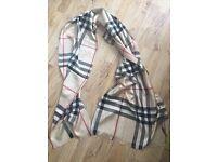 Burberry shawl, winter scarf New