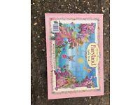 Fairy Book & Jigsaw As new !