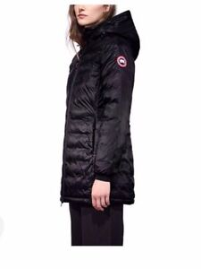 NEW Canada Goose Womens size small black puffer jacket slim coat
