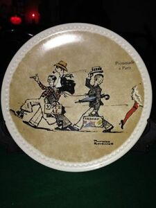 2 Rockwell on Tour Collector Plates For Sale $55/each OBO