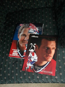 Montreal Les Canadiens magazine and player card