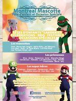 Mascottes - Fête D'enfants - Animation - Location