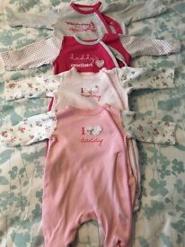 4 Mothercare baby gros