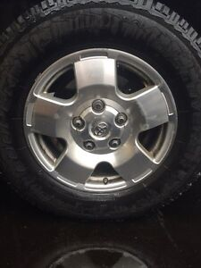 Toyota Tundra rims with tires