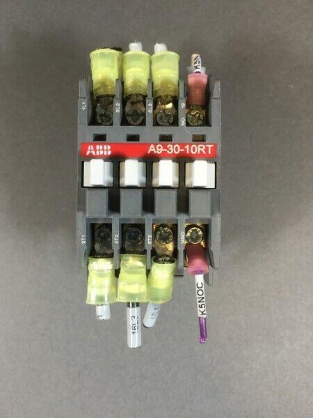 Abb Contactor Control RelayA9-30-10RT 110 V Coil - Contactor
